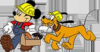 Lavori e restauri al parco Disneyland