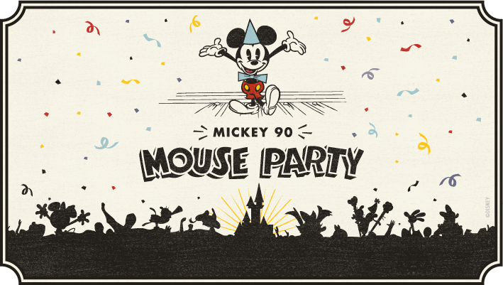 [SOIREE PASS ANNUEL] Mickey 90 Mouse Party  Logo10