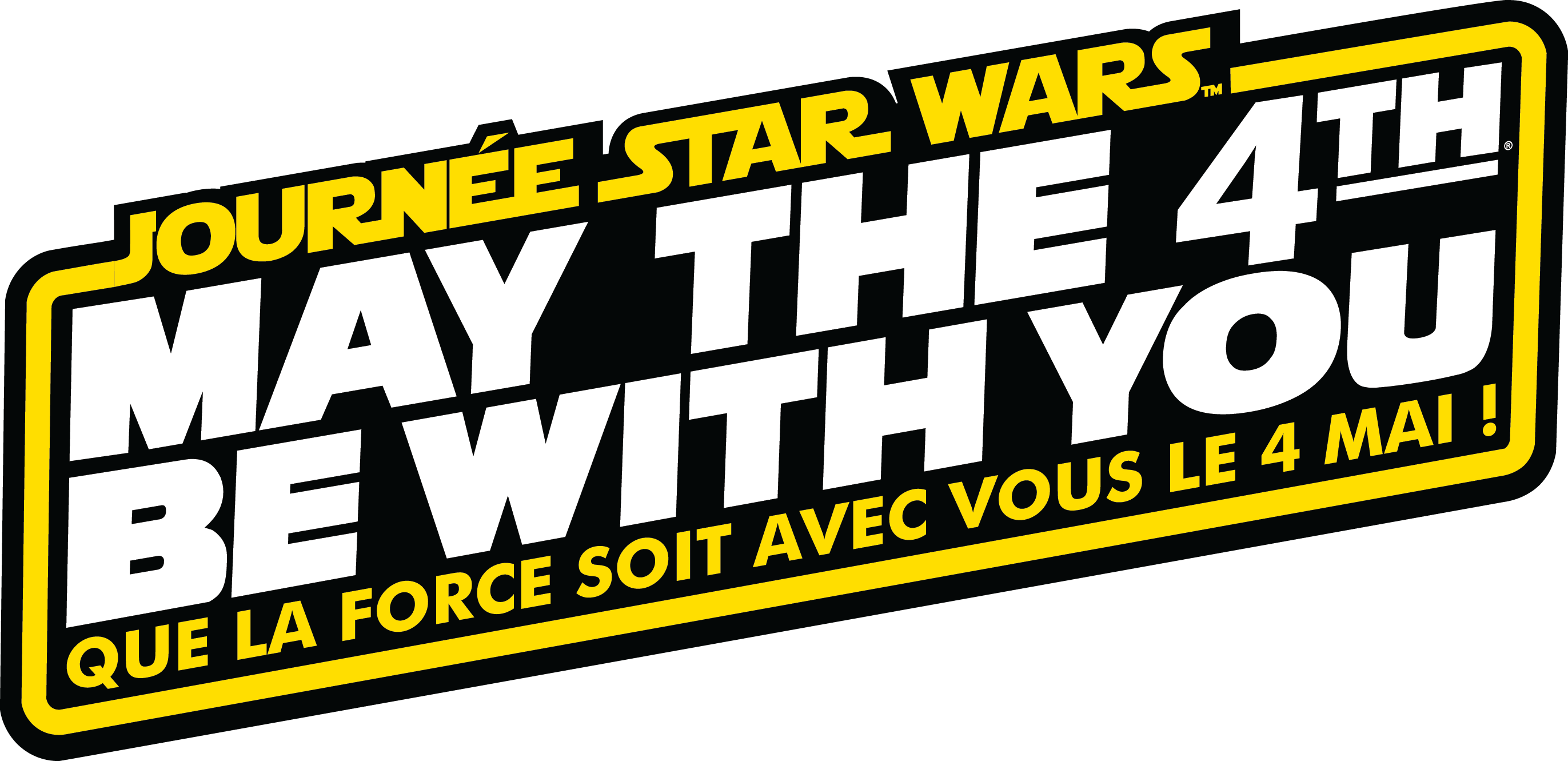 2019 - May the 4th Be With You Logom410