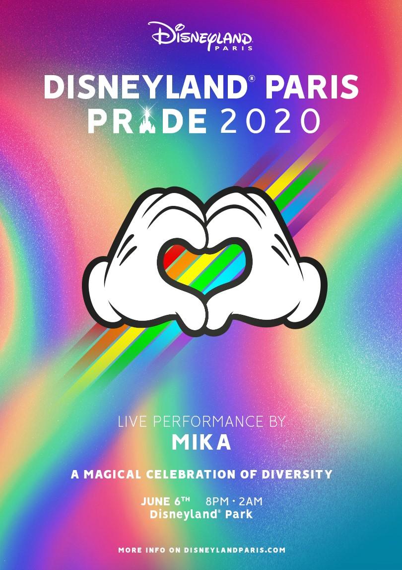 2020 - Disneyland Paris Pride 2020 Mika2012