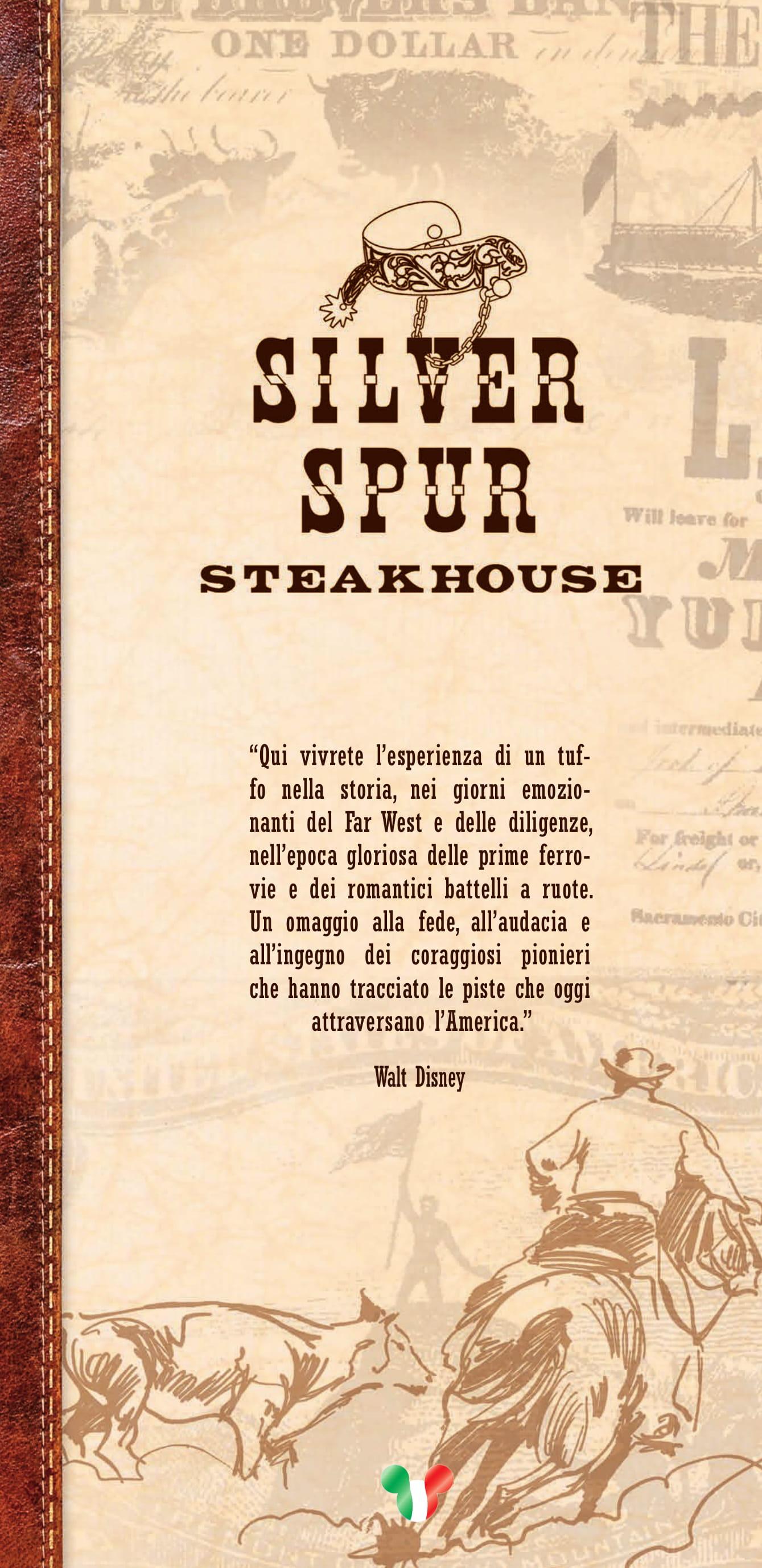 Menu ristoranti servizio al Tavolo Silver12