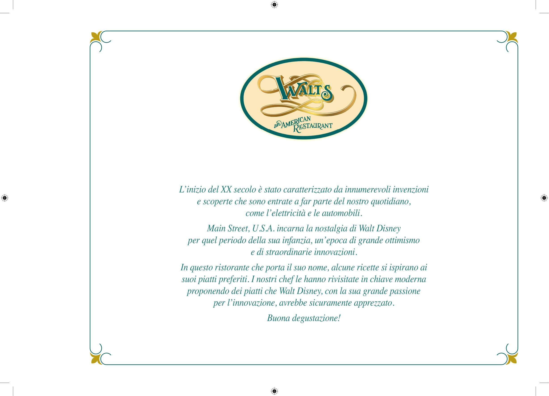 Menu ristoranti servizio al Tavolo Walts-10