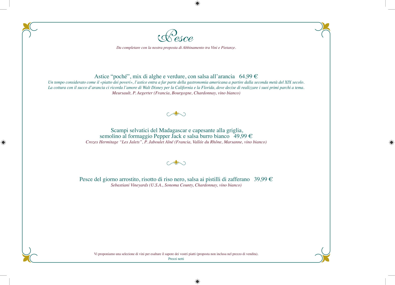 Menu ristoranti servizio al Tavolo Walts-13