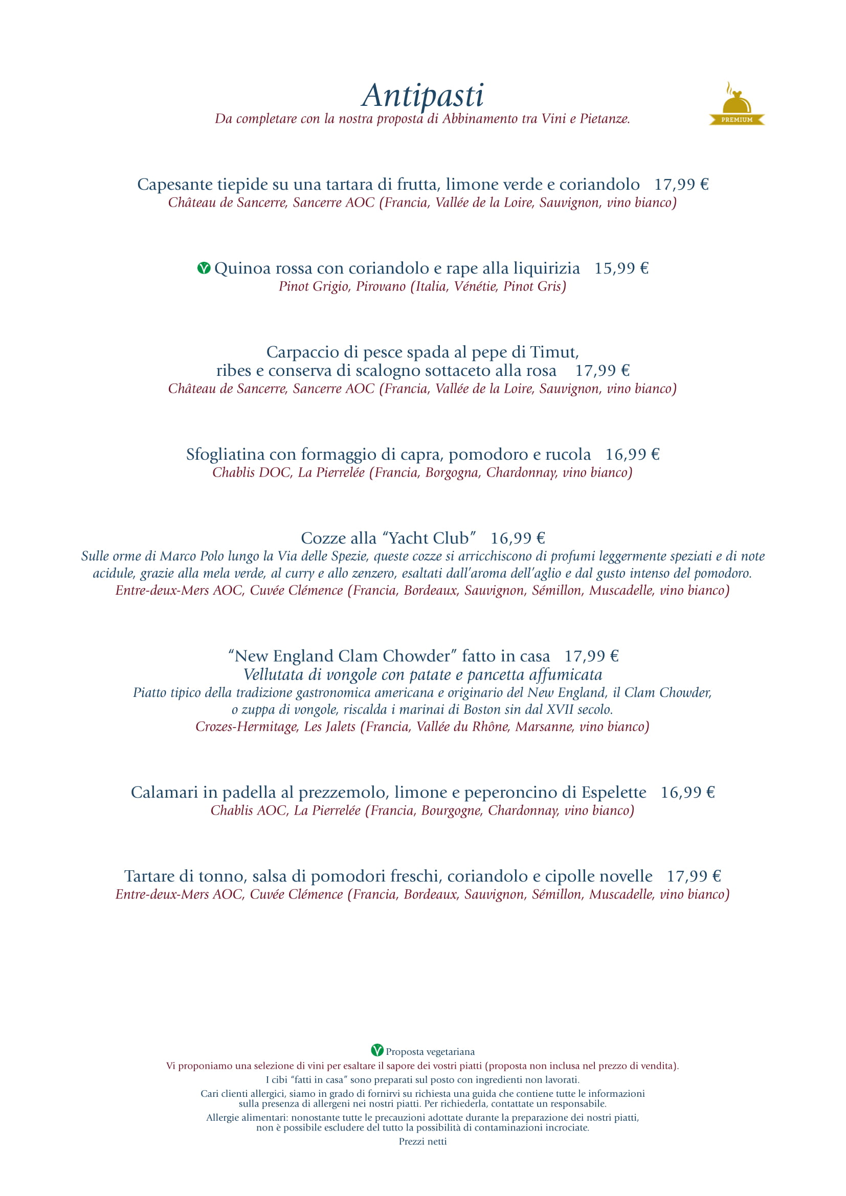 Menu ristoranti servizio al Tavolo - Pagina 2 Yacht-12