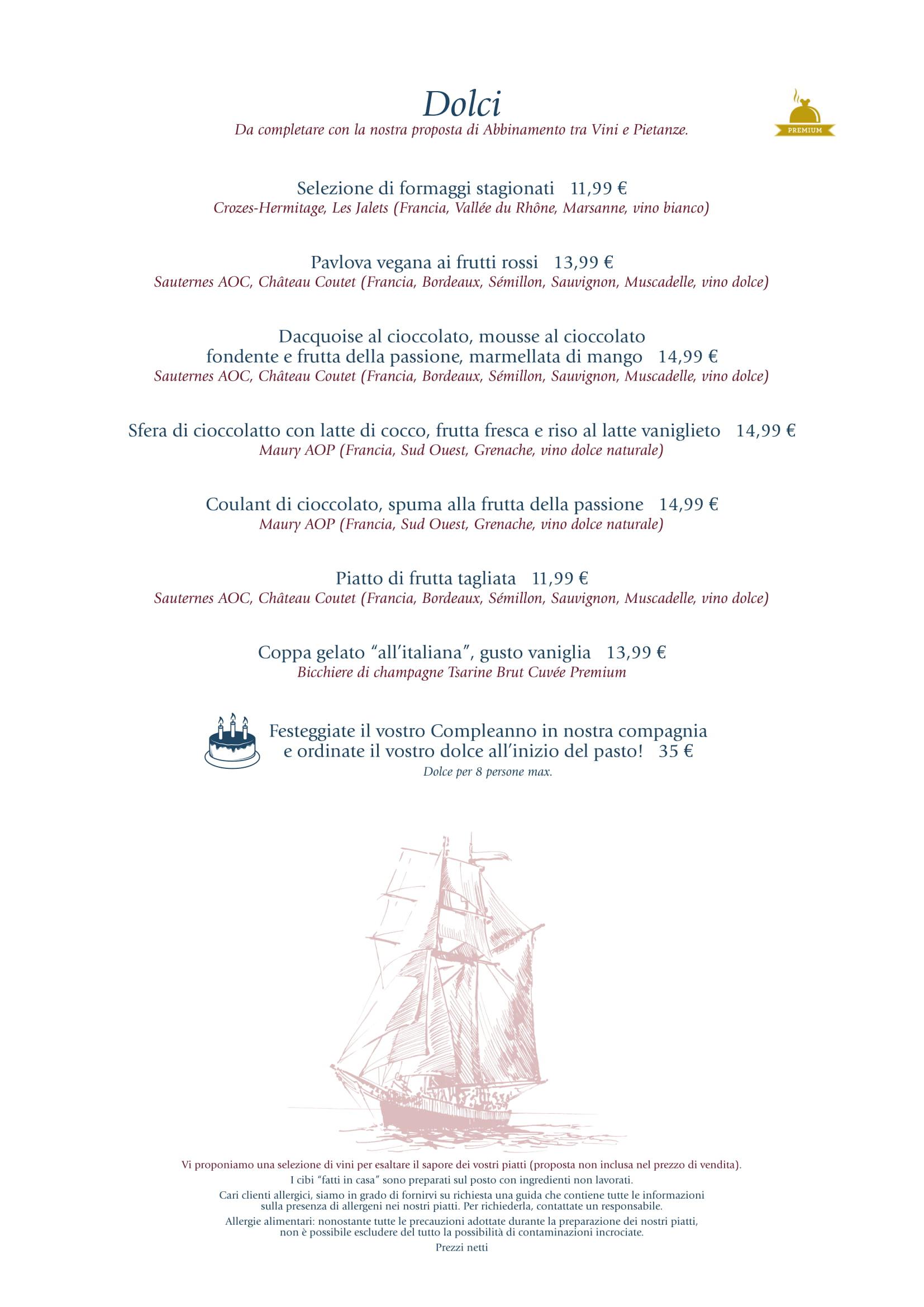 Menu ristoranti servizio al Tavolo - Pagina 2 Yacht-14