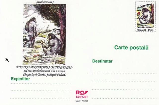 Rumänische Postkarte Screen17