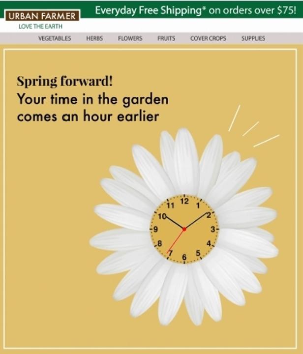 Daylight Savings Time Spring15