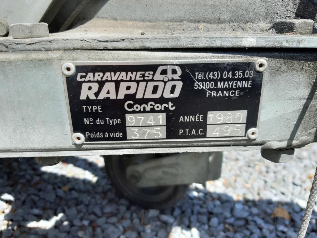 (VENDUE )RAPIDO confort 1980 A VENDRE  20190619