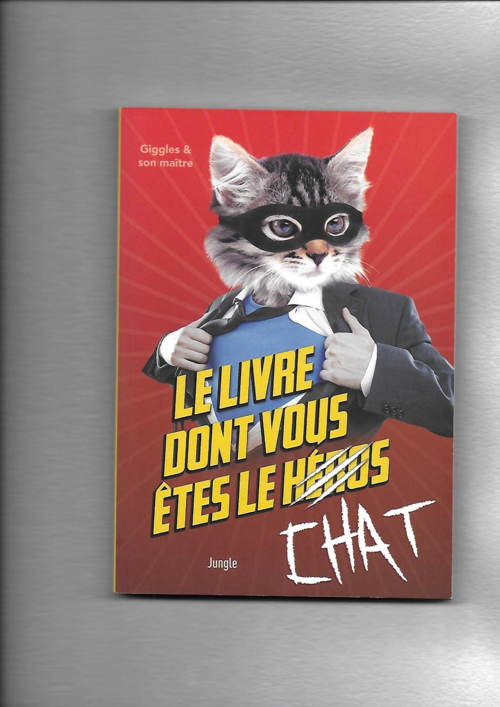 Le livre dont vous etes le chat Couver10