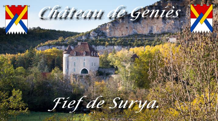Le château de Geniès