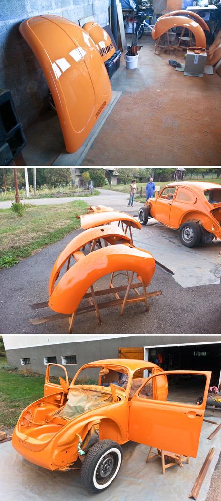 Une petite nouvelle en haute savoie > 1302 L orange Peintu11