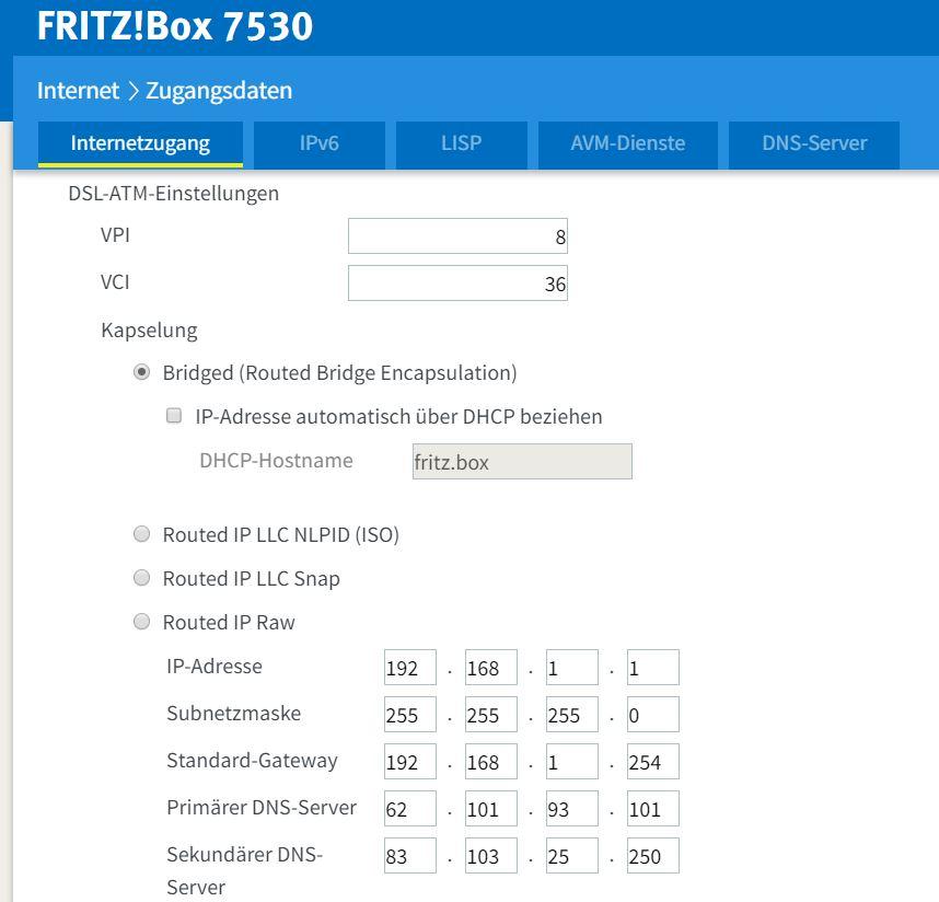 FTTC con Fritz!Box 7530 e Fastweb Image10