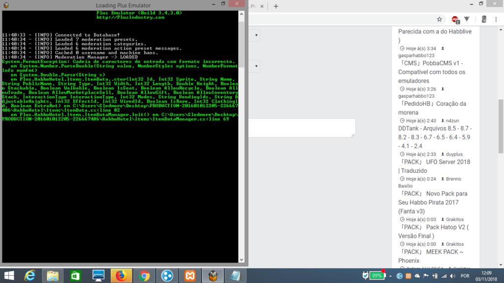 Erro emulador plus Yyxcx610