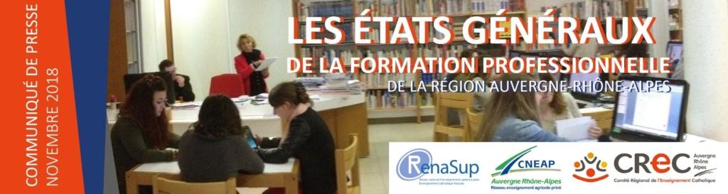 1ers Etats Généraux de la formation professionnelle de l'Enseignement Catholique et privé en Auvergne-Rhône-Alpes Fytnew10