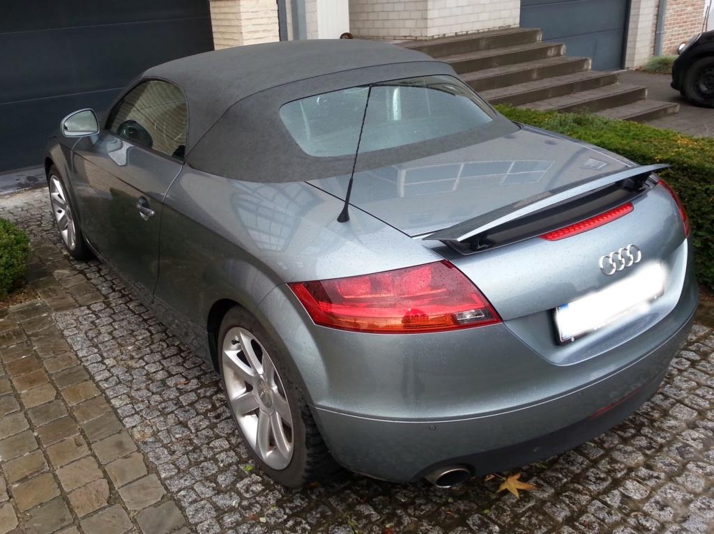 Mon nouveau jouet : TT roadster 3.2 V6 quattro S-tronic  Tt1111