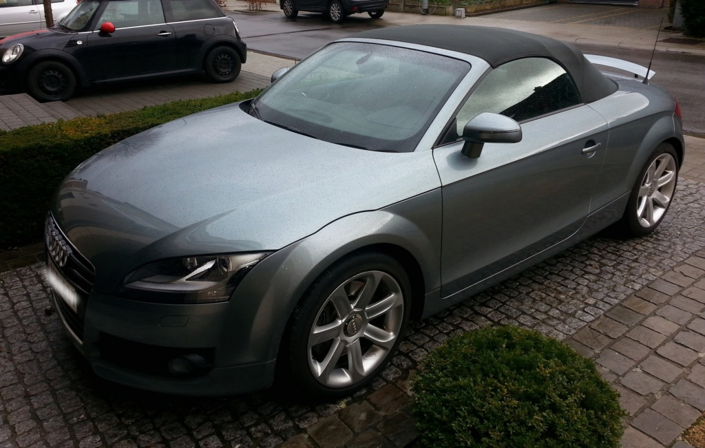 Mon nouveau jouet : TT roadster 3.2 V6 quattro S-tronic  Tt912