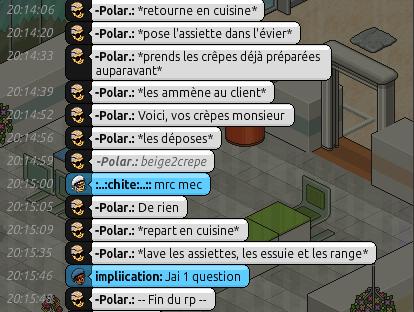 [Restaurant] Rapports d'Actions RP de -Polar. Rp612