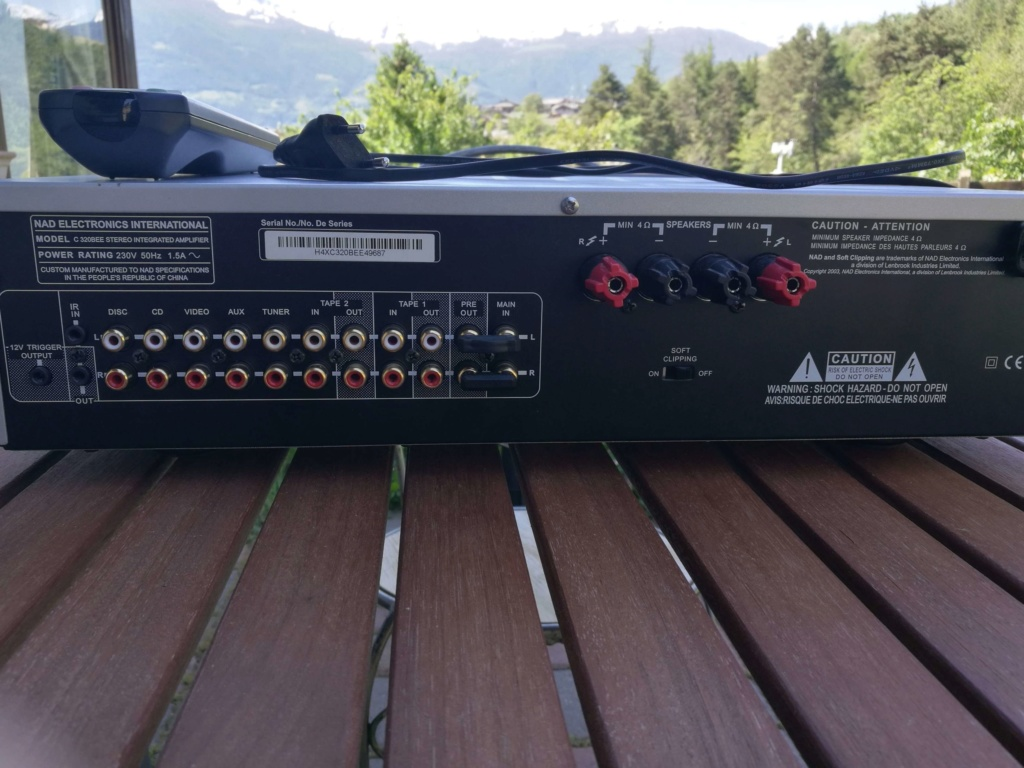 Amplificatore NAD C320BEE Vendo euro 200 B_img_10
