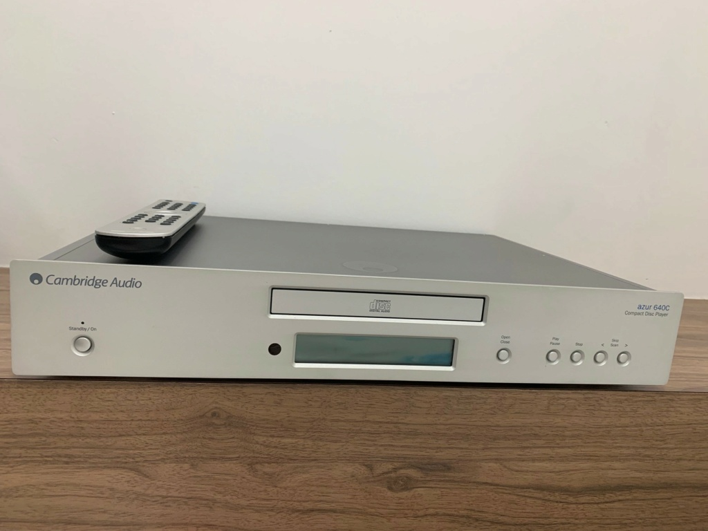 Cambridge Audio Azur 640C CD Player (Used) - SOLD Cambri10