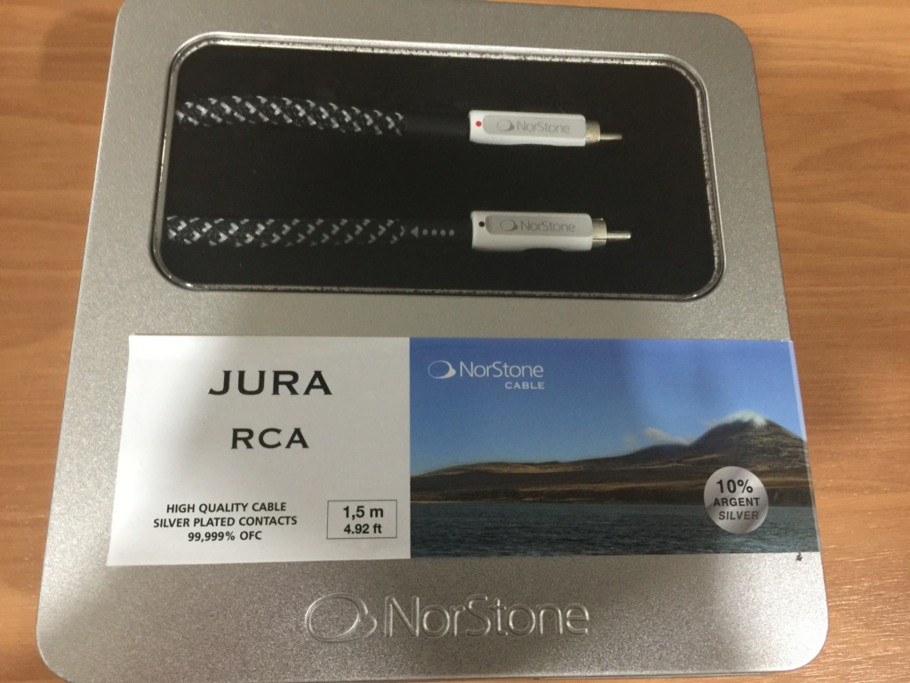 Norstone JURA RCA (Used) - Sold Img_4317