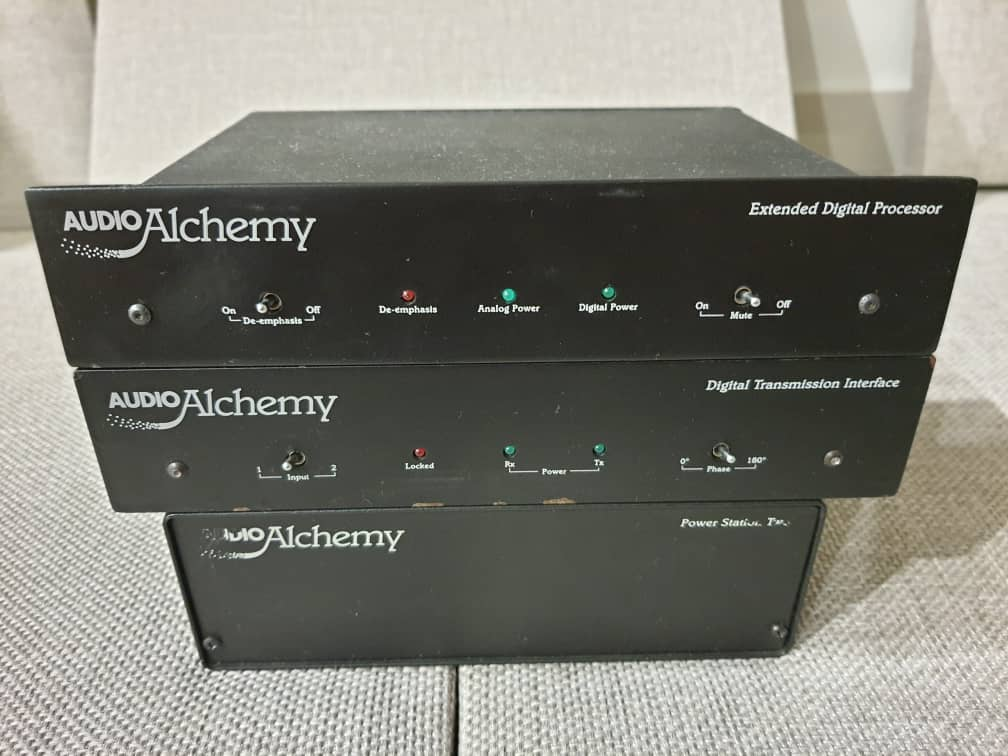 Audio Alchemy DAC - XDP + DTI + PS 2 (SOLD) Whatsa12
