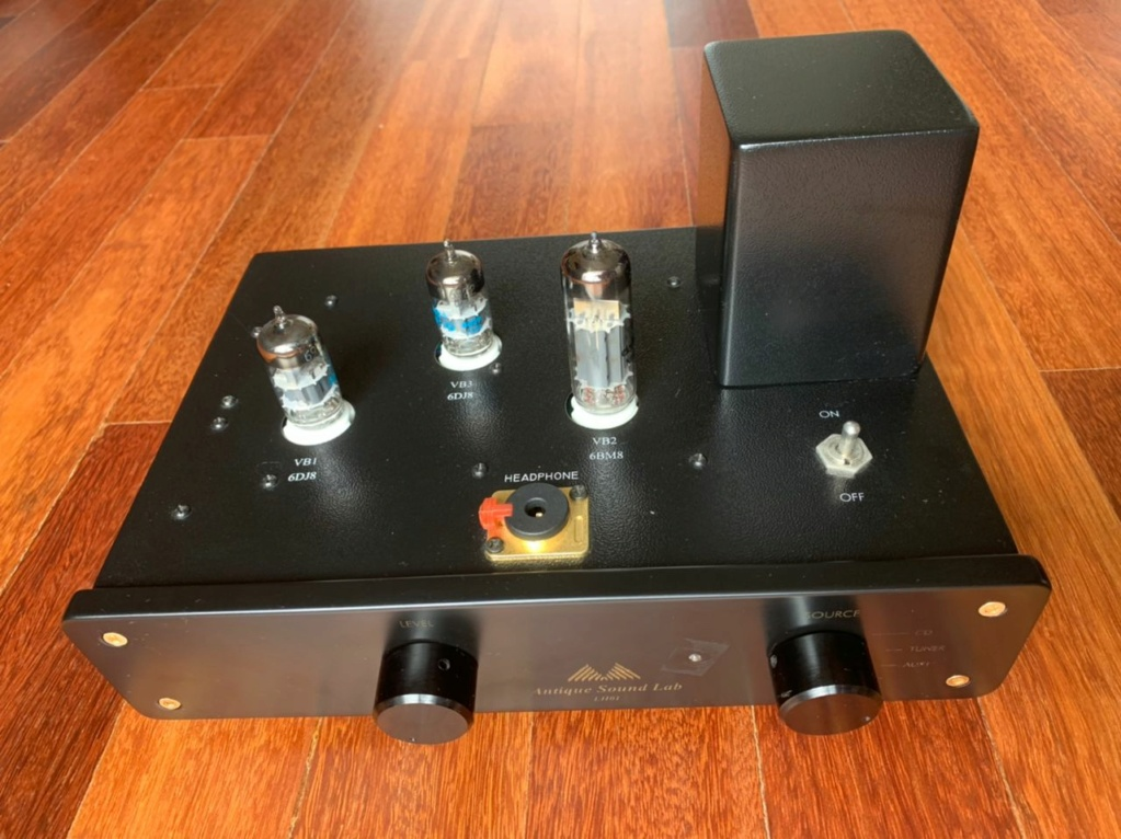Antique Sound Lab Pre-Amp and Monoblock Power Amp - SOLD Whatsa27