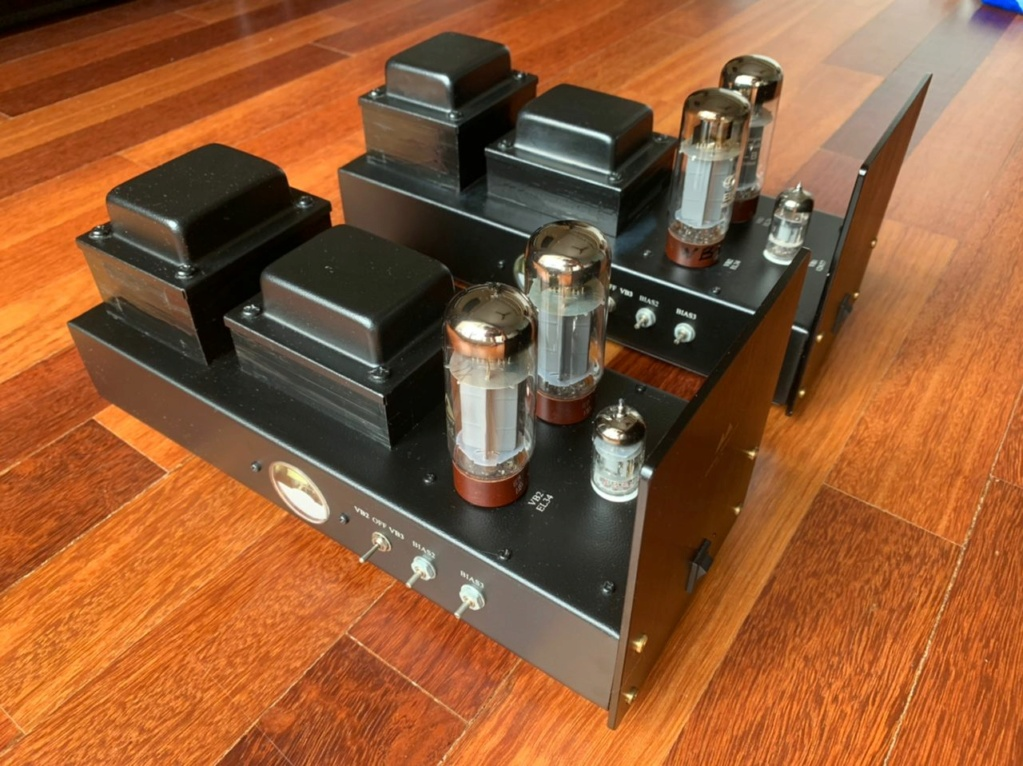 Antique Sound Lab Pre-Amp and Monoblock Power Amp - SOLD Whatsa29