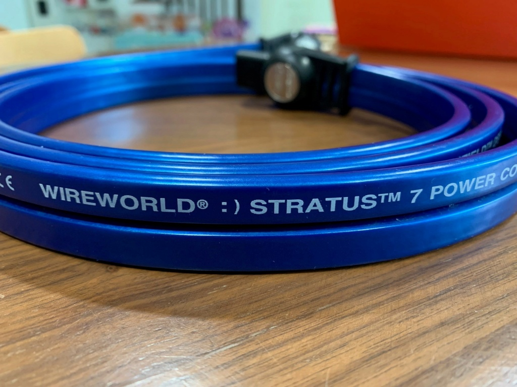 Wireworld Stratus 7 Power Cord US (Used) - Sold Wirewo11