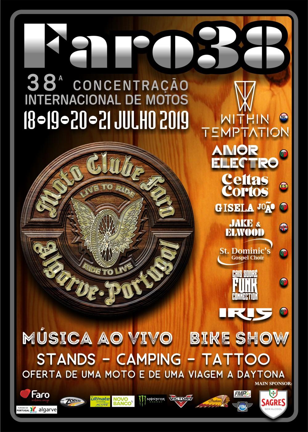 Concentração Internacional de Faro 2019  Cartaz10