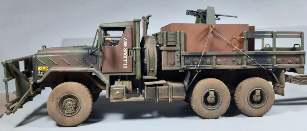 "MT: M 923 "" Hillbilly "" Gun Truck - ITALERI 1:35 10216"