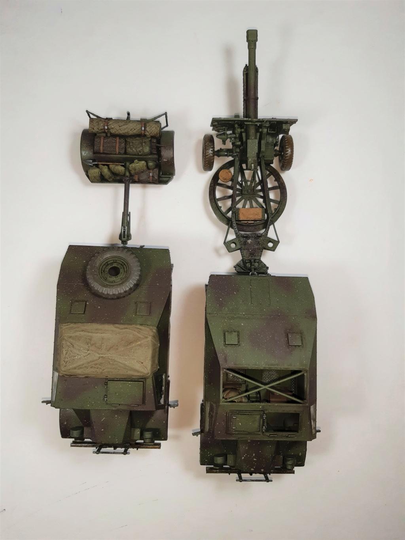 MT: QUAD GUN TRACTOR'S - Tamiya - esc. 1:35 11016