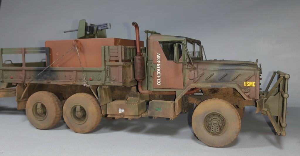 "MT: M 923 "" Hillbilly "" Gun Truck - ITALERI 1:35 11017"