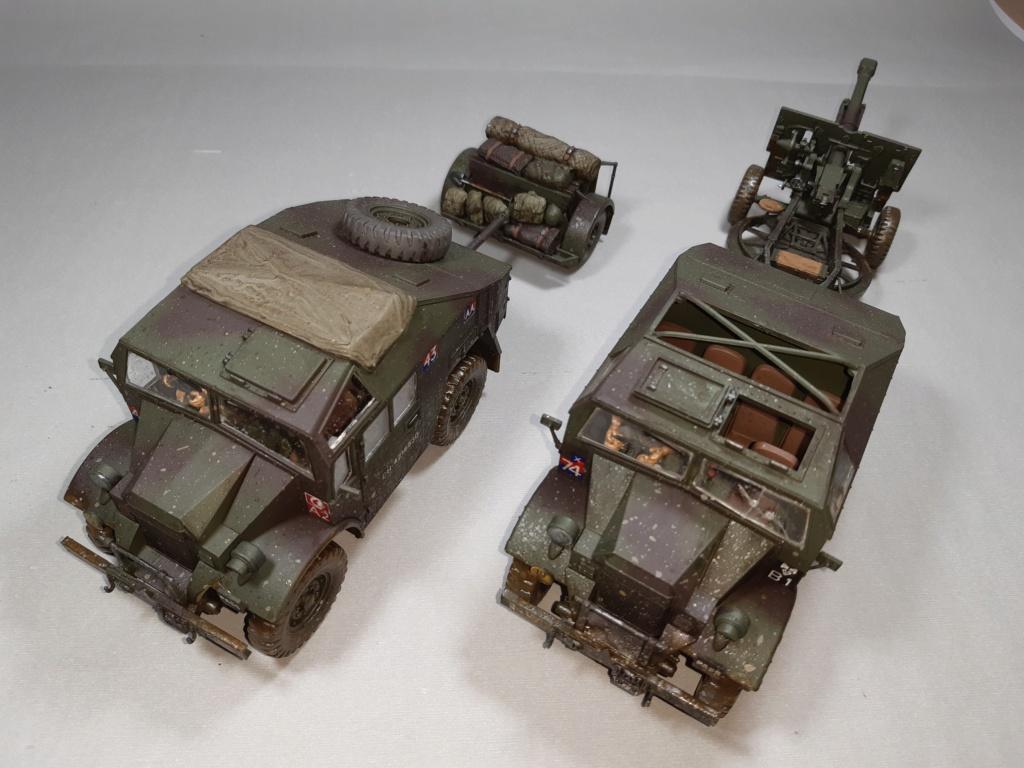 MT: QUAD GUN TRACTOR'S - Tamiya - esc. 1:35 11113