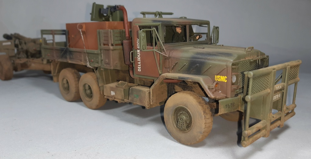 "MT: M 923 "" Hillbilly "" Gun Truck - ITALERI 1:35 11114"