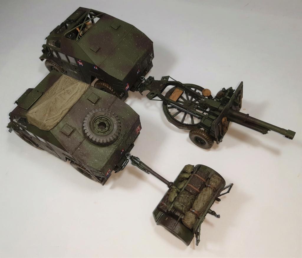 MT: QUAD GUN TRACTOR'S - Tamiya - esc. 1:35 11215