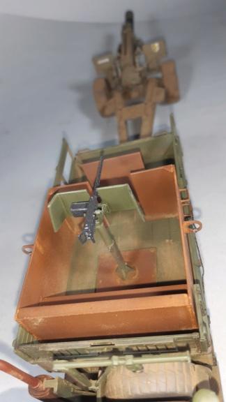 "MT: M 923 "" Hillbilly "" Gun Truck - ITALERI 1:35 11713"