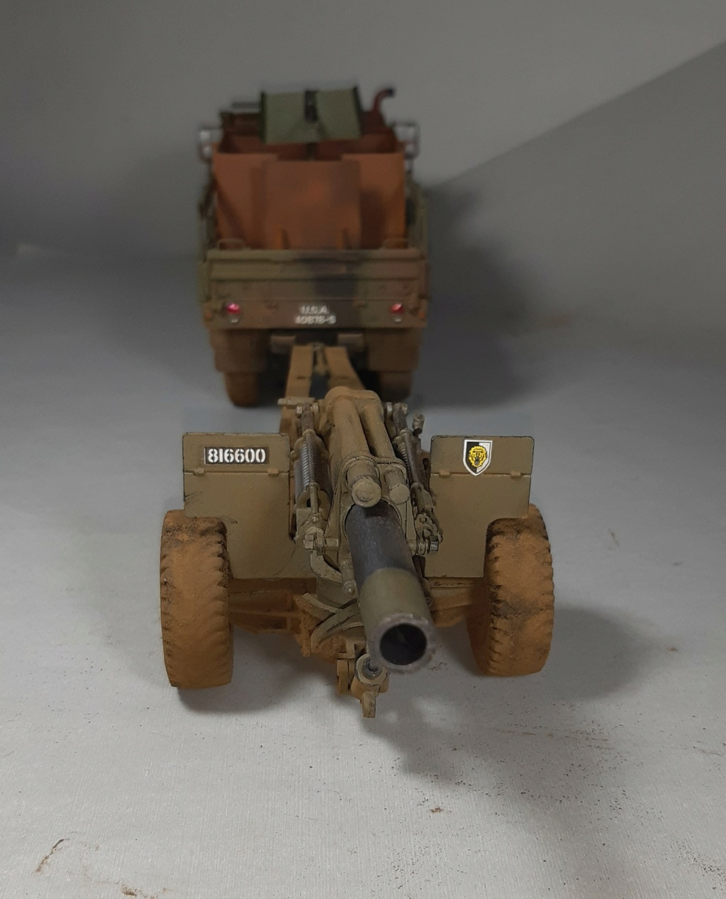 "MT: M 923 "" Hillbilly "" Gun Truck - ITALERI 1:35 11812"