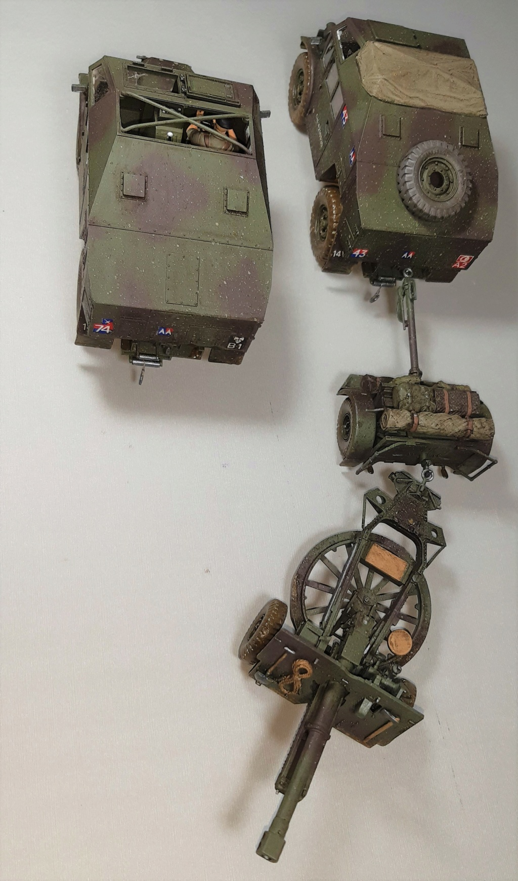 MT: QUAD GUN TRACTOR'S - Tamiya - esc. 1:35 11911