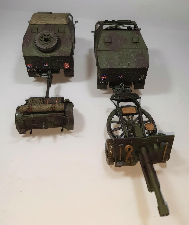 MT: QUAD GUN TRACTOR'S - Tamiya - esc. 1:35 12211