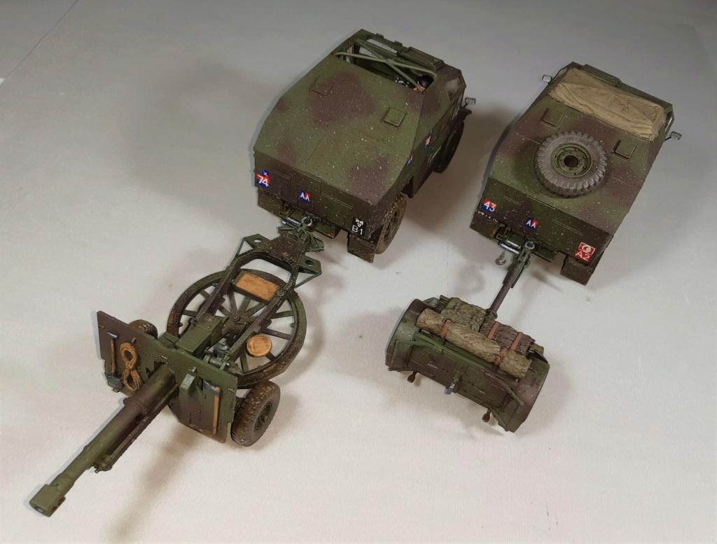 MT: QUAD GUN TRACTOR'S - Tamiya - esc. 1:35 12411