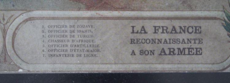 Authentification/estimation gravure J. Dosseray sur les colonies 2019-023
