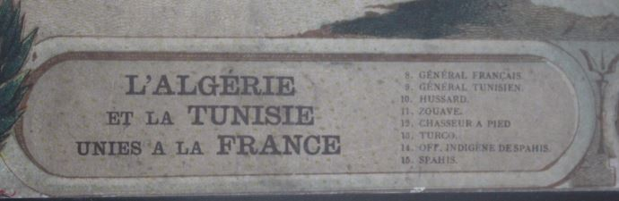 Authentification/estimation gravure J. Dosseray sur les colonies 2019-025