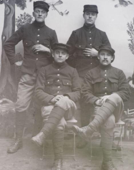Soldats a identifier, plaques photographiques 2020-010