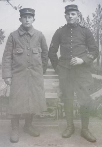 Soldats a identifier, plaques photographiques 2020-011