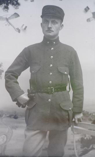 Soldats a identifier, plaques photographiques 2020-013
