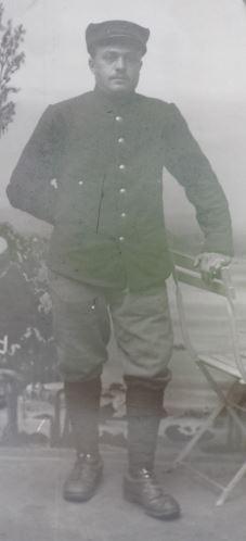 Soldats a identifier, plaques photographiques 2020-014