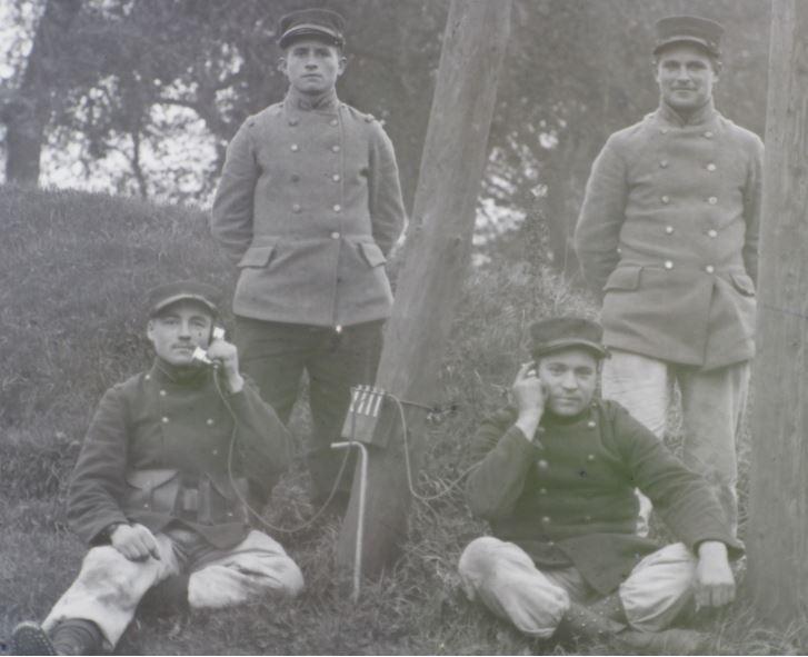 Soldats a identifier, plaques photographiques 2020-018