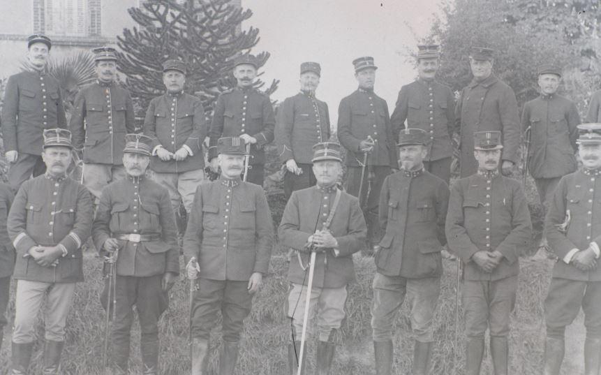 Soldats a identifier, plaques photographiques 2020-022