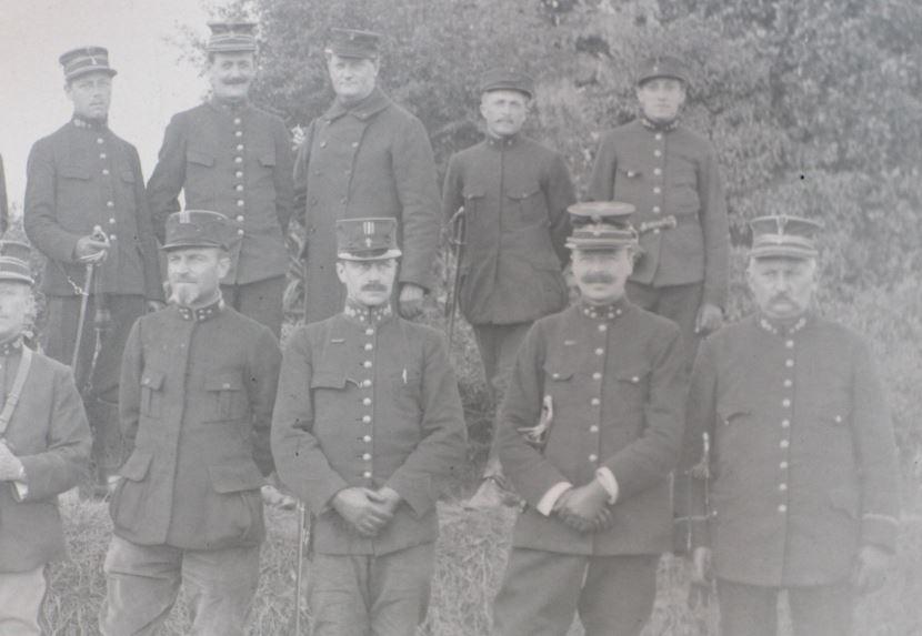Soldats a identifier, plaques photographiques 2020-023