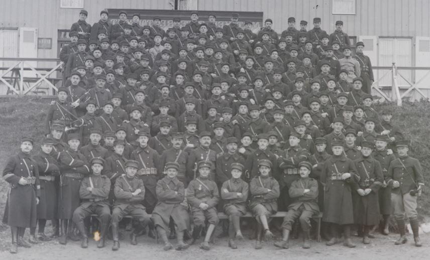 Soldats a identifier, plaques photographiques 2020-024